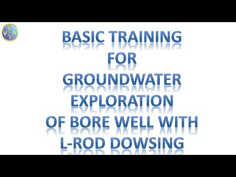 Training for Groundwater Exploration for Bore Well