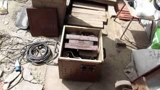 Сварка  металлических  ворот(Начало работ , по сварке ворот из металла, обзор материалов и инструментов.Все этапы изготовления и монтажа..., 2014-05-24T15:00:27.000Z)