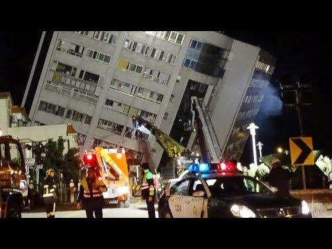 GSM Update 2/7/18 - Deadly Quake Taiwan - Bitter Cold - 12 Dead 80 Injured - Wandering Pole