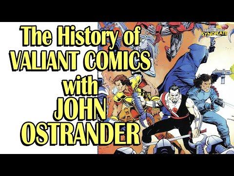 John Ostrander talks Valiants Comics! | COMIC BOOK SYNDICATE