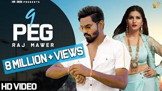 9 Peg (Official Video) Raj Mawer | VRaj Bandhu | Latest Haryanvi Song 2019 | HR Desi
