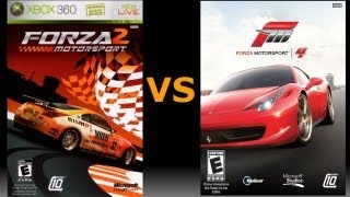 Forza 4 vs Forza 2 - Does the older game win?