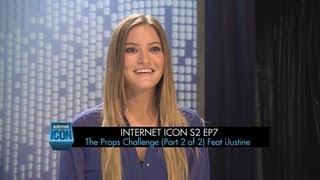 Internet Icon S2 Ep7 -- The Props Challenge (Part 2 of 2) Feat iJustine