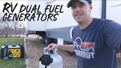 RV Propane Generators Are They Worth It? Duel Fuel Generators.