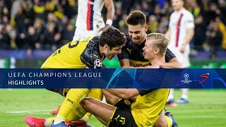 UEFA Champions League | Borussia Dortmund v Paris Saint-Germain | Highlights