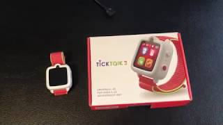 A REAL review of the TickTalk 3 by dad