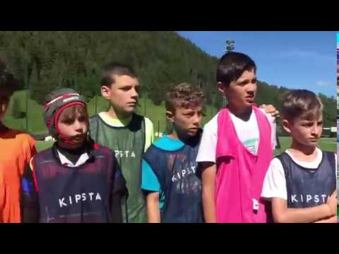 Rugby Camps | Youngsters learning the Tigers way in Italy