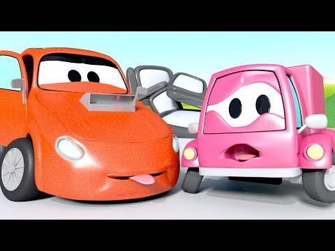 Gary's mirrors has been stolen while he was sleeping - The Car Patrol in Car City l Kids Cartoons