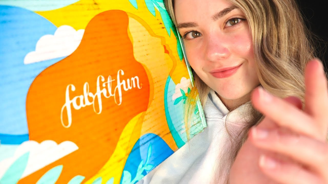 ASMR FabFitFun Most Relaxing Unboxing EVER! Summer Editor's Box, New Beauty & Skincare Favorites