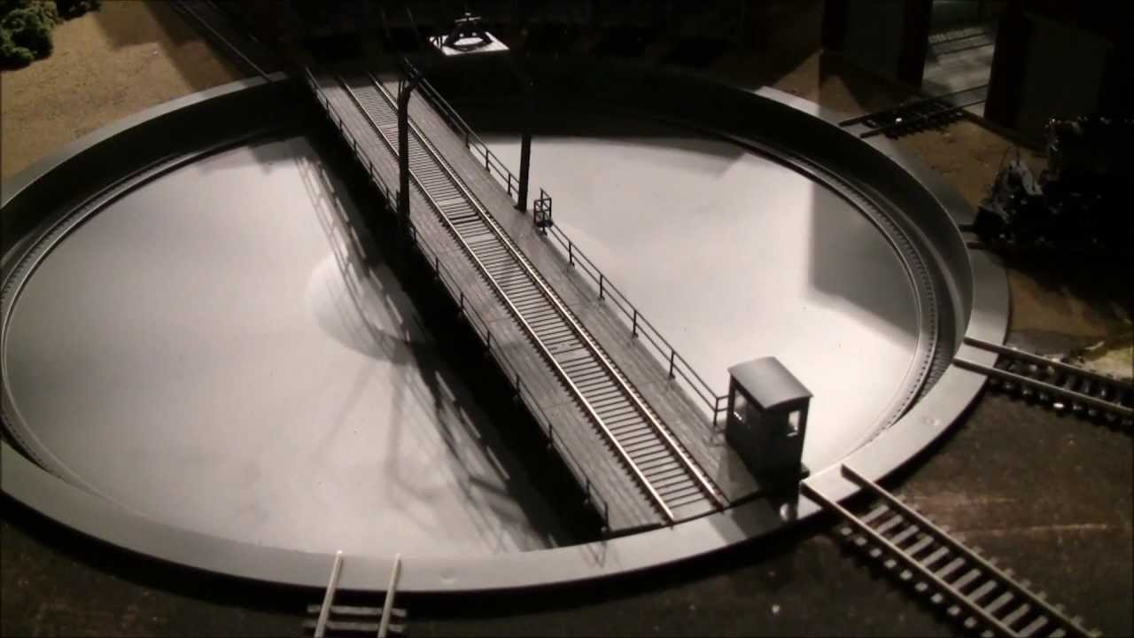 Dcc Ho Scale Turntables Wiring Diagrams Reinvent Your Diagram N How To Install A Walthers 130 Ft Turntable From Start Rh Youtube Com Track Maintenance Roundhouse And