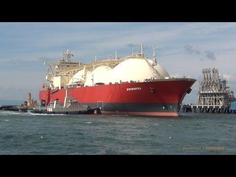 DWIPUTRA LNGタンカー  LNG TANKER SHIP