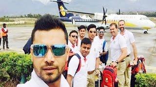 Repeat youtube video Mashrafe Mortaza - Captain of Bangladesh (having fun)