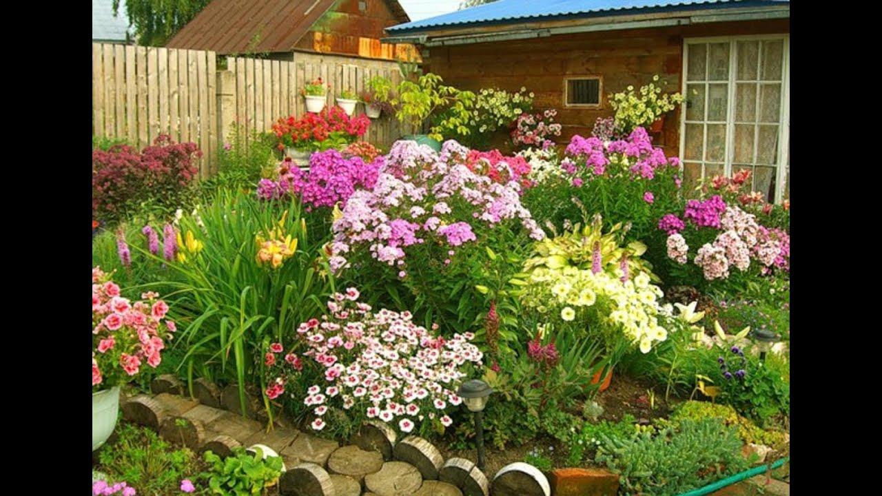 Цветник для сада своими руками фото