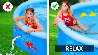 Easy Girls Hacks! Summer DIY Make Your Life Easier