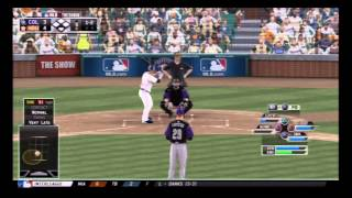 MLB 13 The Show (Colorado Rockies @ Houston Astros (MON) - Colorado Rockies Franchise Mode)