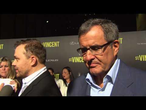 St. Vincent: Prodcuer Peter Chernin New York Movie Premiere