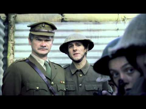 Horrible Histories WWI General Arrives to Inspect the troops  -  Game Splat That Rat!