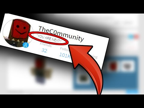 TheC0mmunity IS TARGETING ME!?! (Roblox Mysteries)