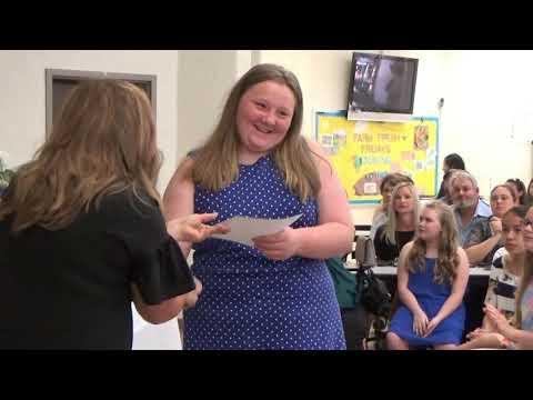 Trion Elementary School 5th Grade Awards Day 5/24/19