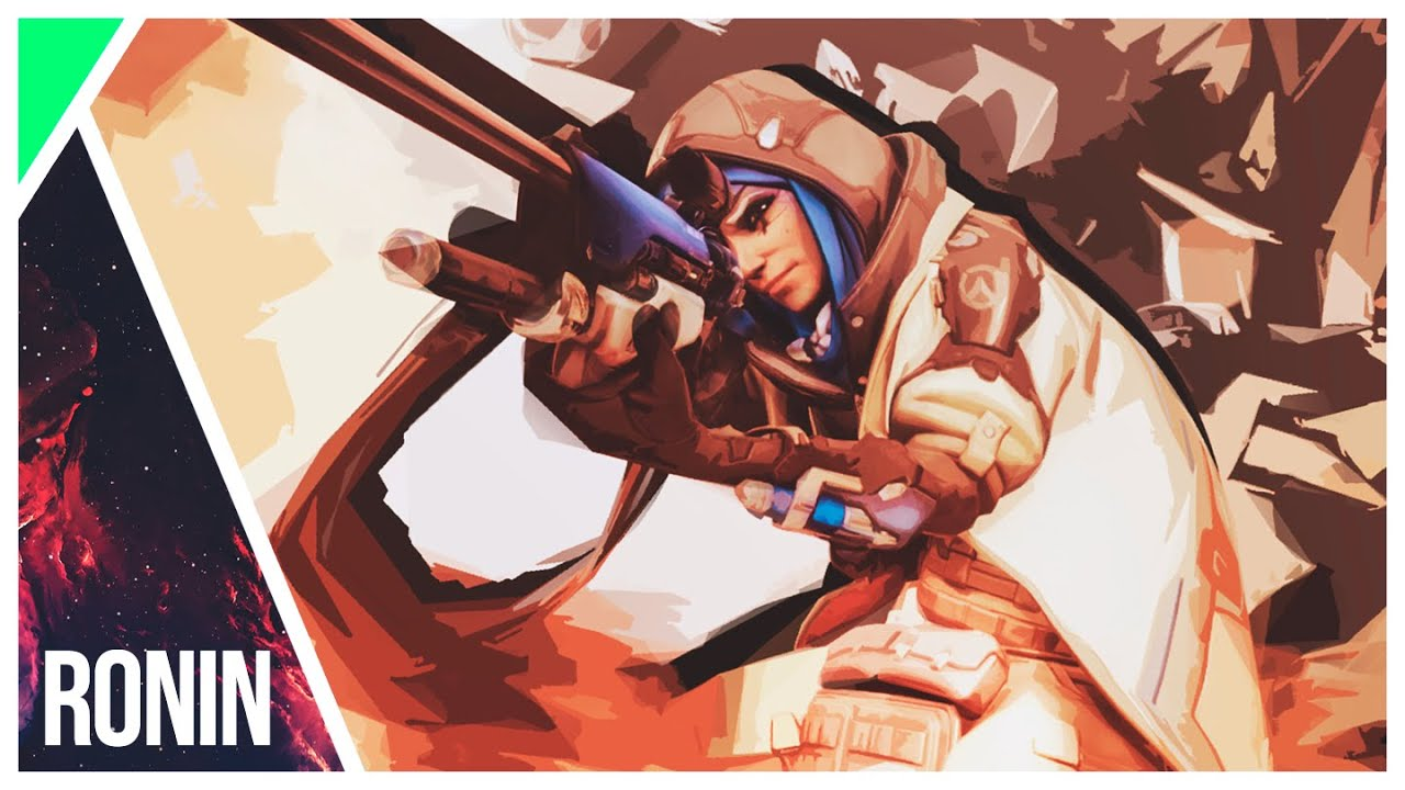 Wallpaper Ana Overwatch