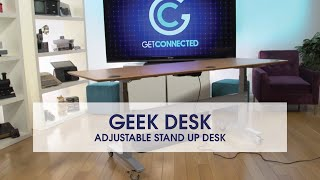 Assembling The Geekdesk Max - Motorized Sitting/standing Desk