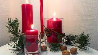 Jak zrobić szybki stroik na adwent, Boże Narodzenie