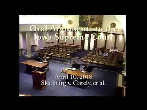 17-0151 Michelle R. Skadburg v. Gary Gately and Whitfield and Eddy, PLC, April 10, 2018