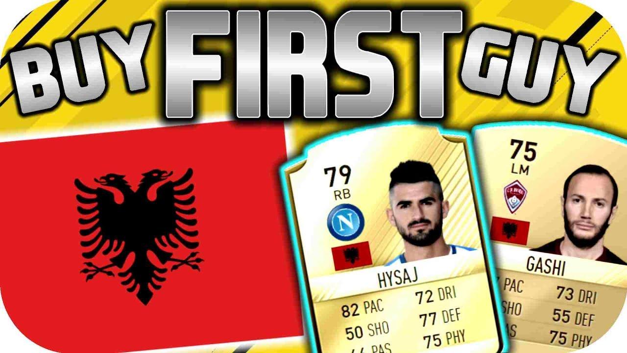 Fifa 17 Albanien