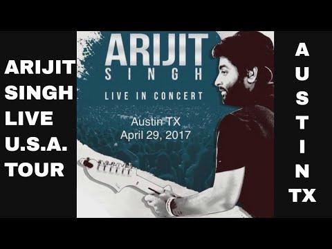 Arijit Singh Live in concert - Austin Tx (April 29, 2017)