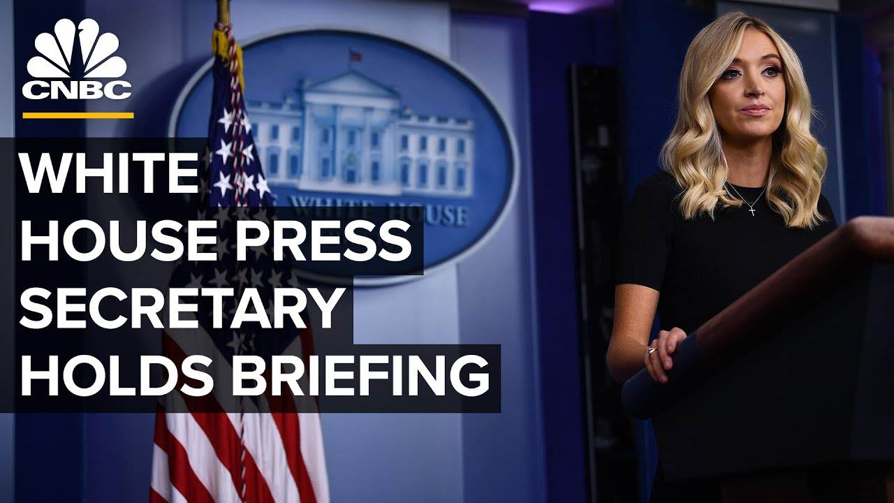 White House Press Secretary Kayleigh Mcenany Holds Briefing 6 22 2020 Youtube