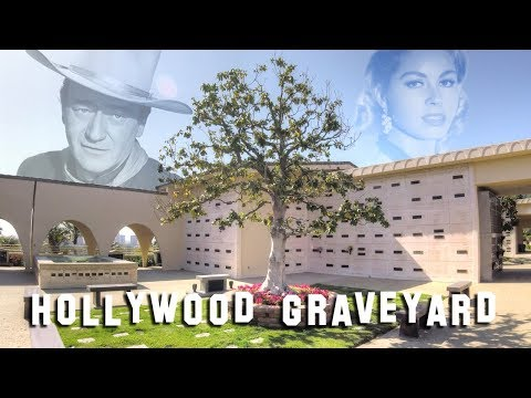 FAMOUS GRAVE TOUR - Pacific View (John Wayne, Marion Mack, etc.)