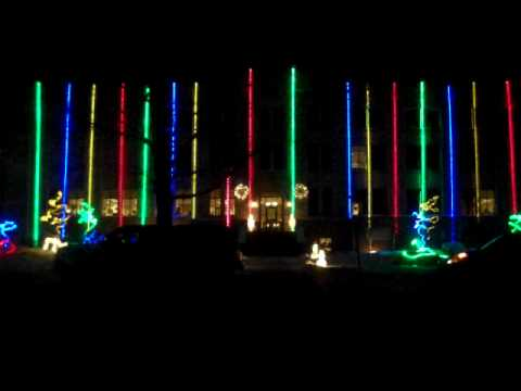 Albany County Courthouse Lightshow - Carol of the Bells - David Fosters