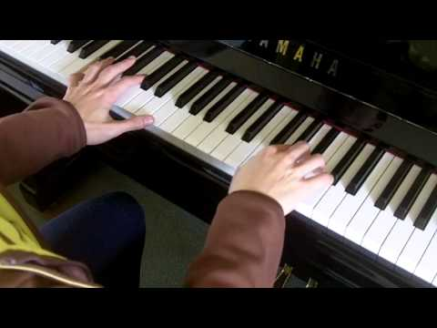 ABRSM Piano 2013-2014 Grade 2 A:1 A1 Purcell Hornpipe from Abdelazer Z.T683 Slow Demo