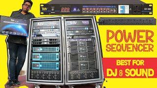 Power Sequencer for DJ & Live Sound Equipment