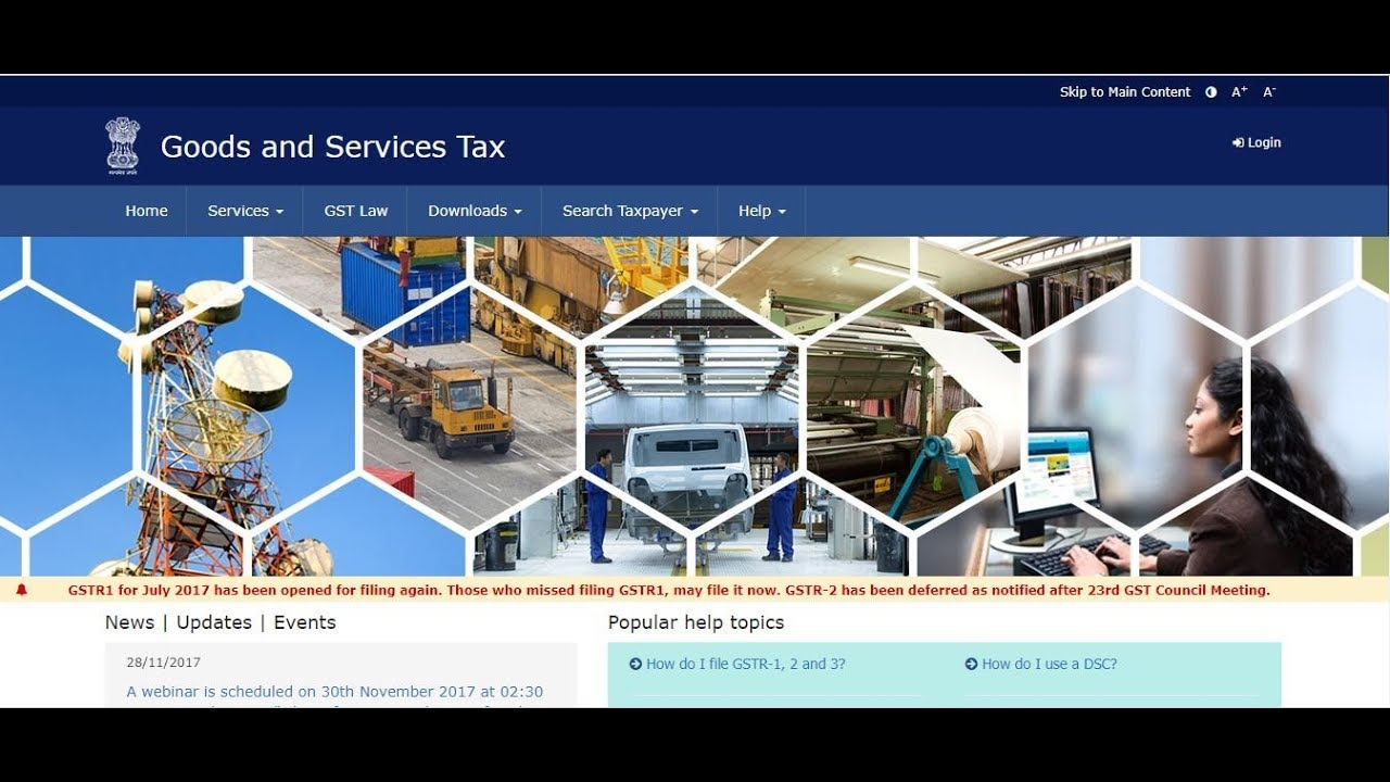 Live demo of Refund application under GST I RFD-01A I Refund to Exports I