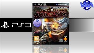 Motor Storm Apocalypse Gameplay Ps3 ( 2011 )