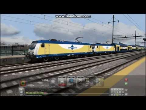 Train Simulator 2013 HD EXCLUSIVE: NJT Double Head Trenton NYP Local With Metronom TRAXX 146.2