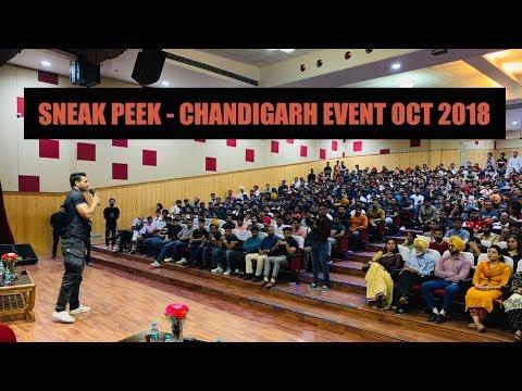 Sneak Peek of Guru Mann's CHANDIGARH event Oct 2018