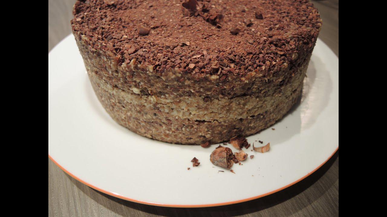 Rezept: Schokokuchen mit echten Kakaobohnen ( 100% vegan ) - YouTube