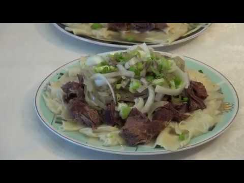 Бешбармак! Казахское национальное блюдо. Готовим дома. 2020