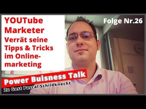 Pascal Schildknecht geheime Tipps und Tricks im Onlinemarketing