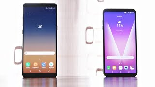 Samsung Galaxy Note 8 vs LG V30 - mein Vergleich (Deutsch)