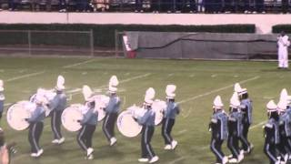 JSU marching band BOTBs entrance/The Show
