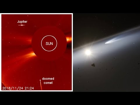 Huge Comet Crashed Into the Sun on November 25, 2018