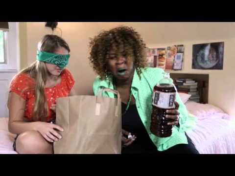 WHAT'S IN MY MOUTH CHALLENGE Lia Marie Johnson , GloZell