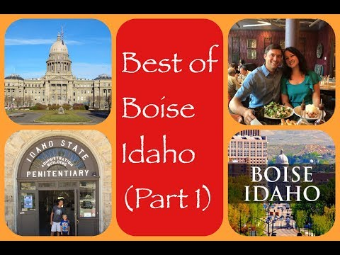 Favorite Places in Boise Idaho | Travel Guide
