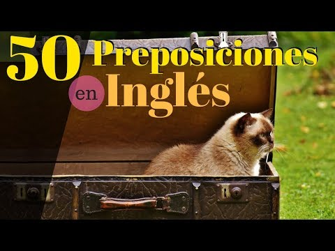 50 Preposiciones Más Comunes En Inglés Americano 😀 Aprende a Escuchar Inglés Con Ejemplos