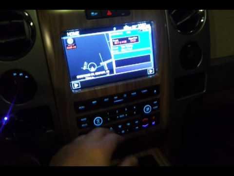 2011 F150 Custom System W Factory Head Unit Youtube