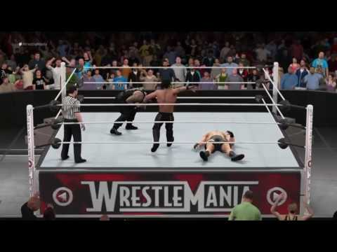 WWE 2K17 Simulation The SHIELD Career