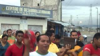 Tercera Semana de Mision en las Plazas / Parroquia Santa Faz / Guayaquil - Ecuador
